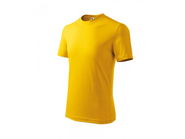 Detské Tričko BASIC žltá