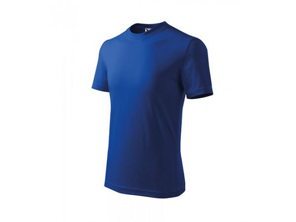 Detské Tričko BASIC kráľovská modrá