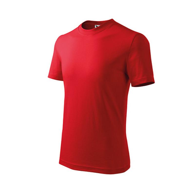 Detské Tričko BASIC červená