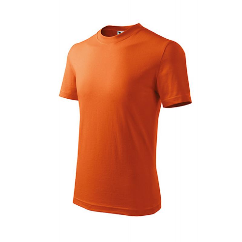 Detské Tričko BASIC oranžová