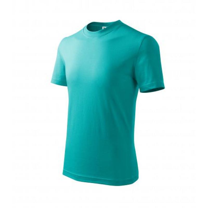 Detské Tričko BASIC smaragdovo zelená