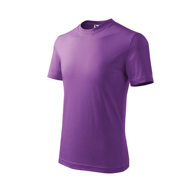 Detské Tričko BASIC fialová