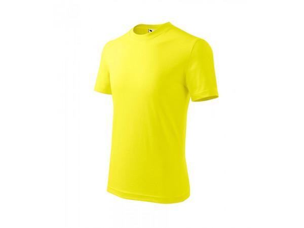 Detské Tričko BASIC citrónová