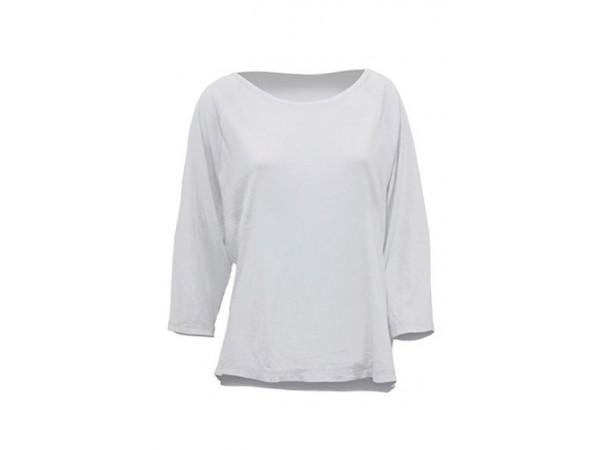 Dámske tričko s 3/4 raglánovým rukávom