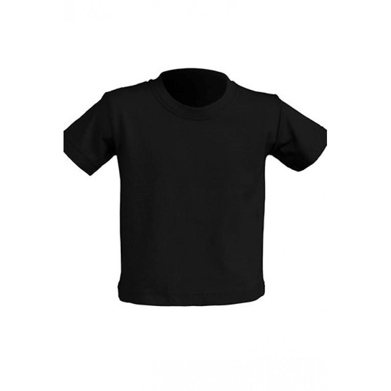 Tričko pre novorodenca čierne