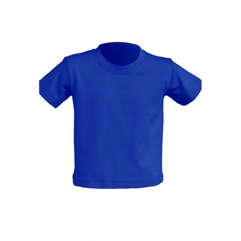 Tričko pre novorodenca kráľovská  modrá