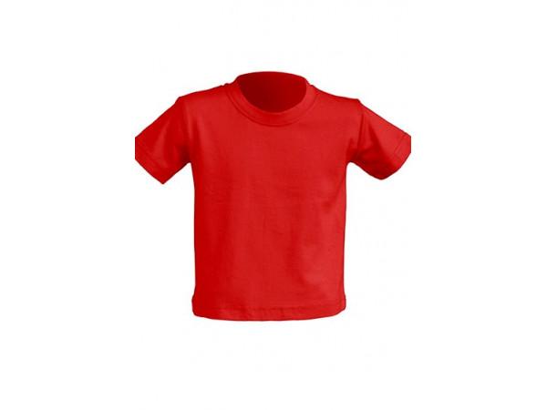 Tričko pre novorodenca červené