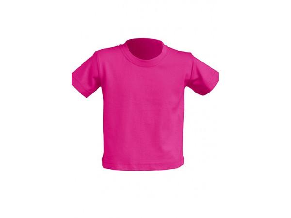 Tričko pre novorodenca fuksiové