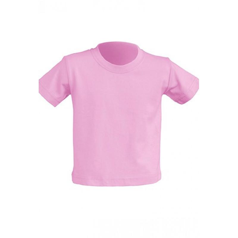 Tričko pre novorodenca ružové