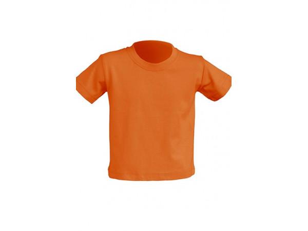 Tričko pre novorodenca oranžové