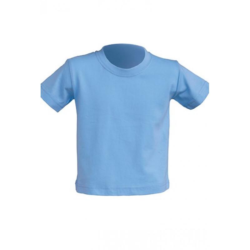 Tričko pre novorodenca nebeská modrá