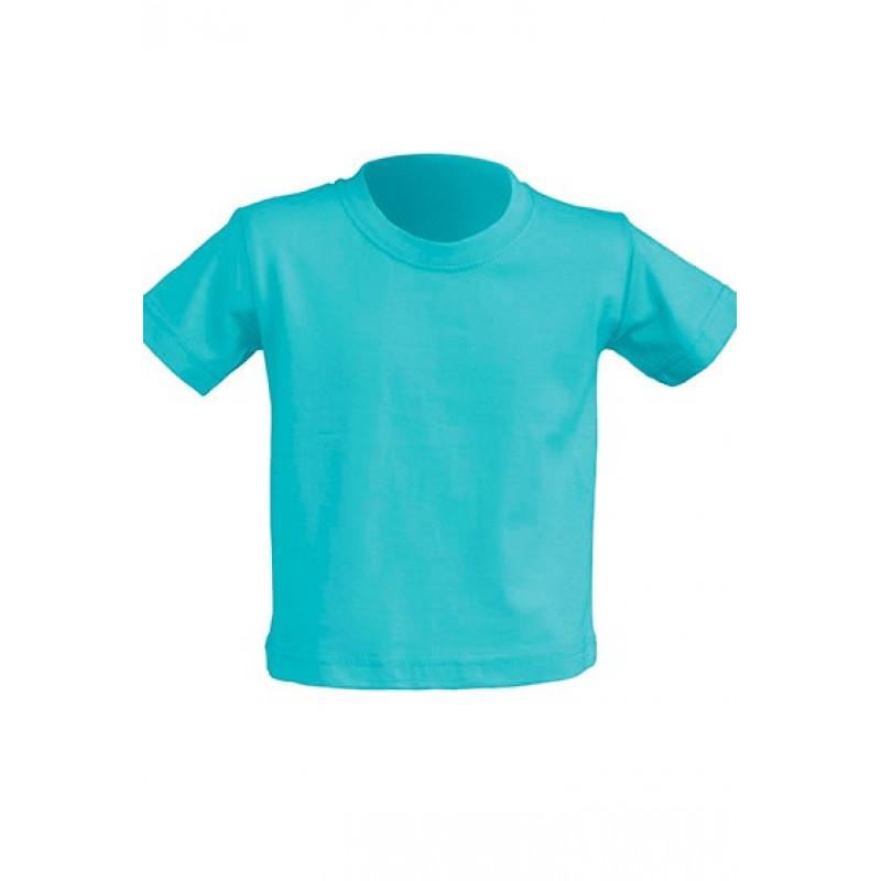 Tričko pre novorodenca tyrkysové