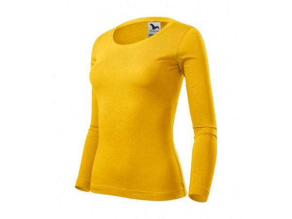 Dámske Tričko Fit-T LS žltá