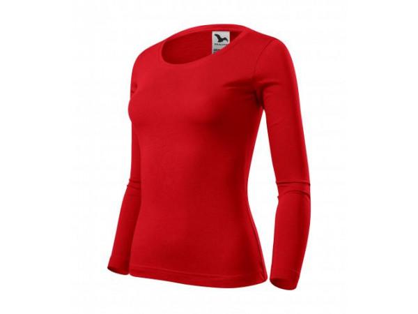 Dámske Tričko Fit-T LS červená