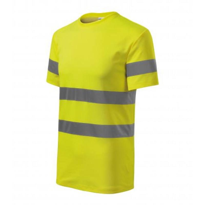 Unisex Tričko HV PROTECT žltá