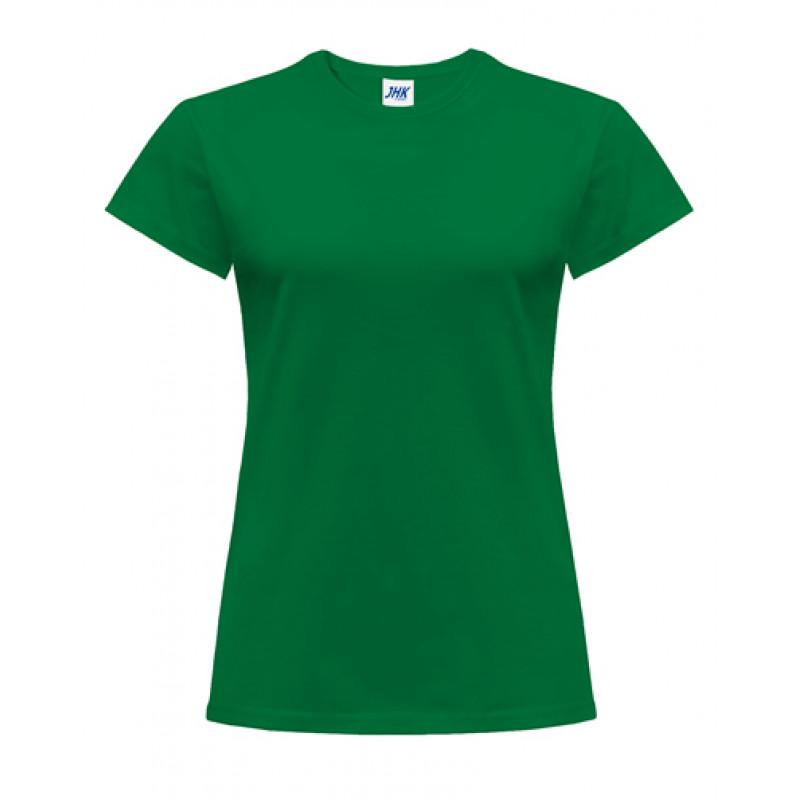 Dámske tričko kelly zelená