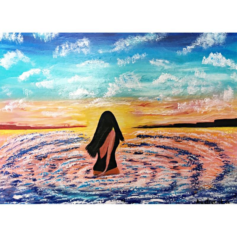 Žena v mori