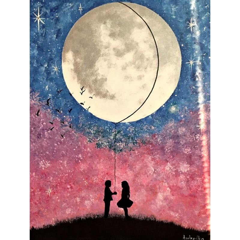 Zaľúbený mesiac