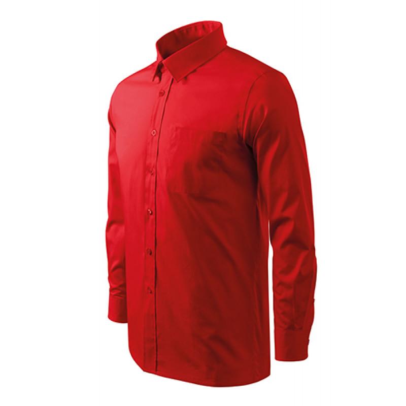 Pánska Košeľa Style LS červená