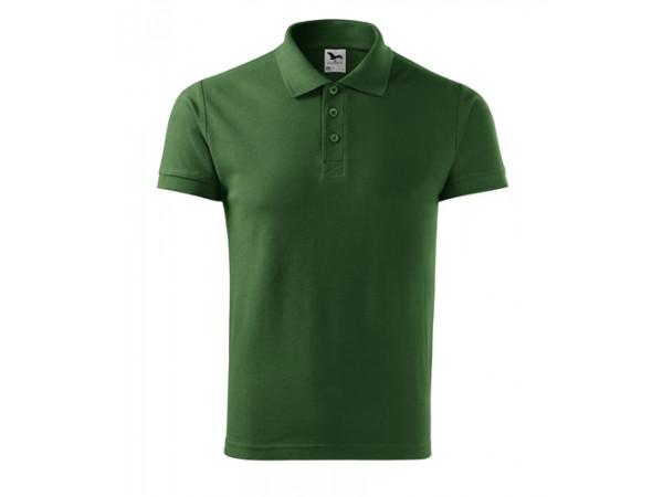 Pánska Polokošeľa Cotton flaškovo zelená