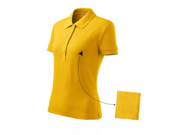 Dámska Polokošeľa Cotton žltá