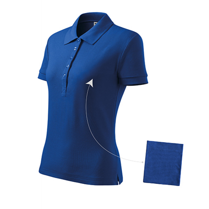 Dámska Polokošeľa Cotton kráľovská modrá