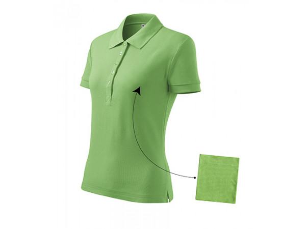 Dámska Polokošeľa Cotton hráškovo zelená