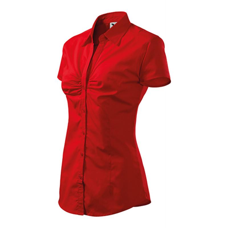 Dámska Košeľa Chic červená
