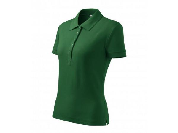 Dámska Košeľa Cotton Heavy fľaškovo zelená