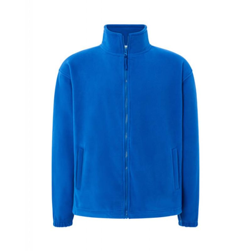 Pánska fleecová mikina kráľovská modrá