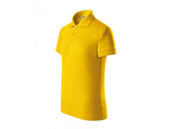Detská Polokošeľa PIQUE POLO žltá