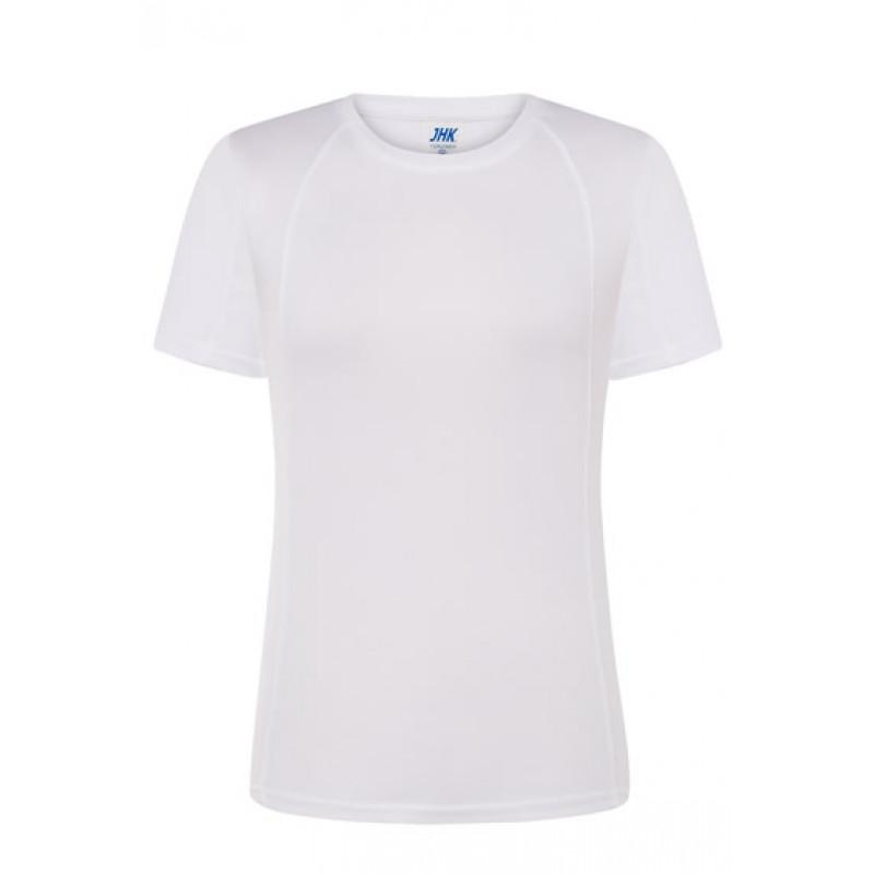 Dámske športové tričko biele