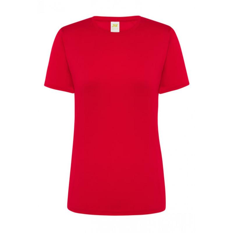 Dámske športové tričko červené