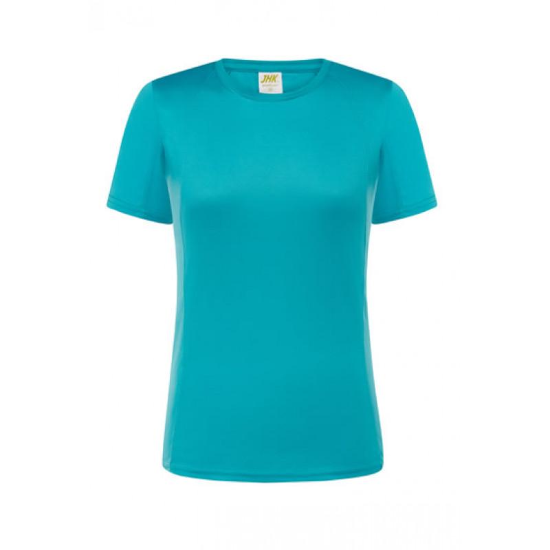 Dámske športové tričko tyrkysové