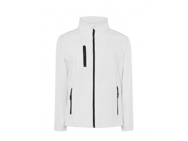 Dámska softshellová bunda biela