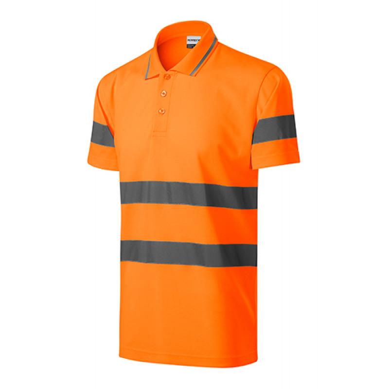 Unisex polokošeľa HV RUNWAY oranžová
