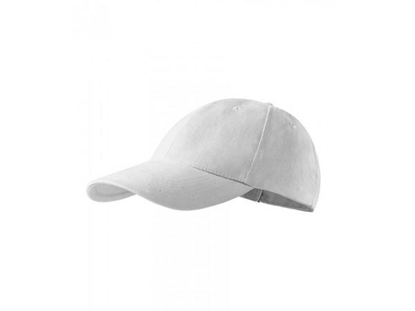 Unisex Čiapka 6P biela