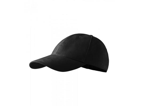 Unisex Čiapka 6P čierna