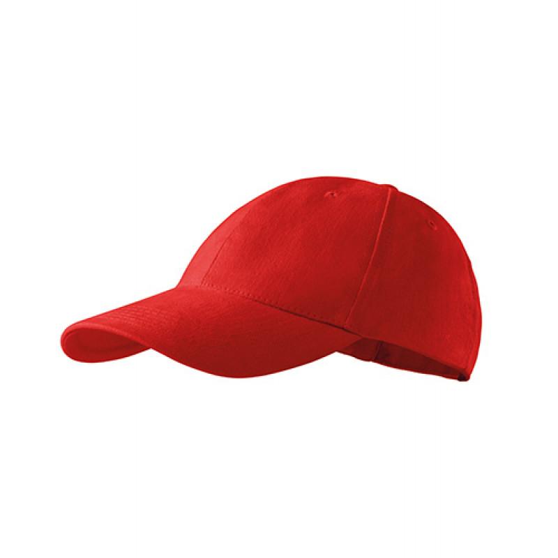 Unisex Čiapka 6P červená