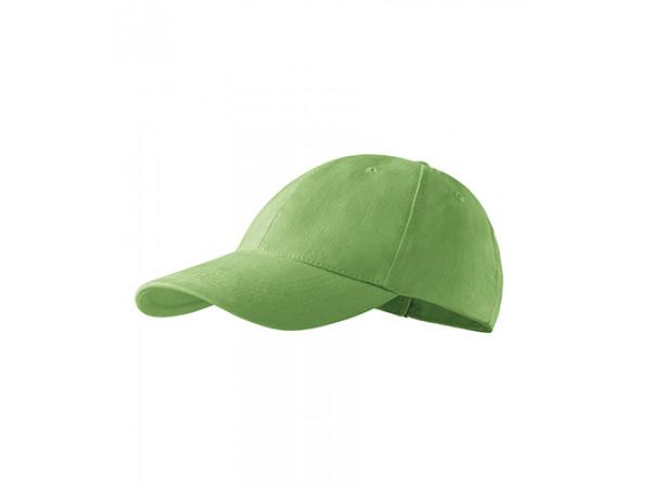 Unisex Čiapka 6P hráškovo zelená