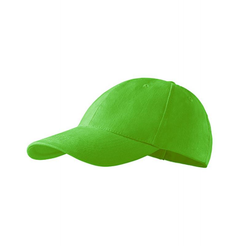 Unisex Čiapka 6P jablkovo zelená