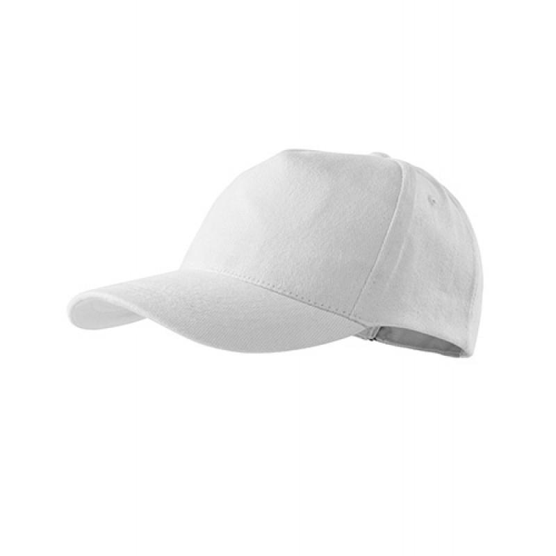 Unisex Čiapka 5P biela