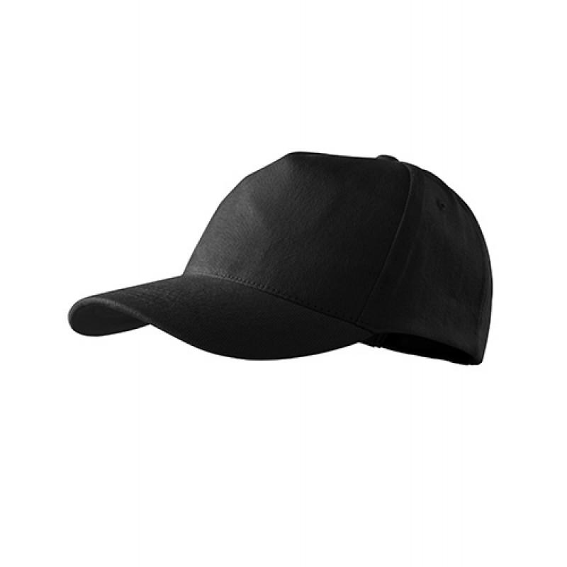 Unisex Čiapka 5P čierna