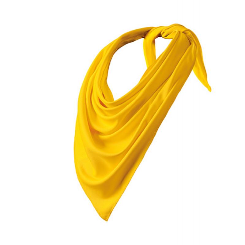 Šatka Relax žltá
