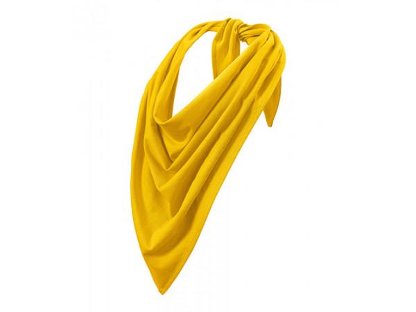 Unisex Šatka Fancy žltá
