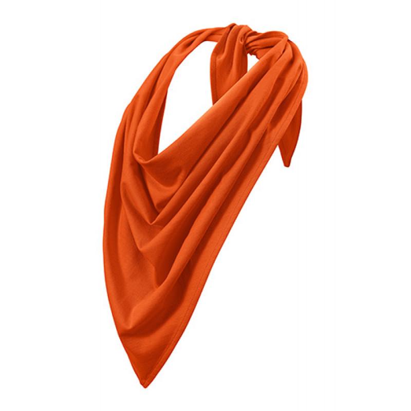 Unisex Šatka Fancy oranžová