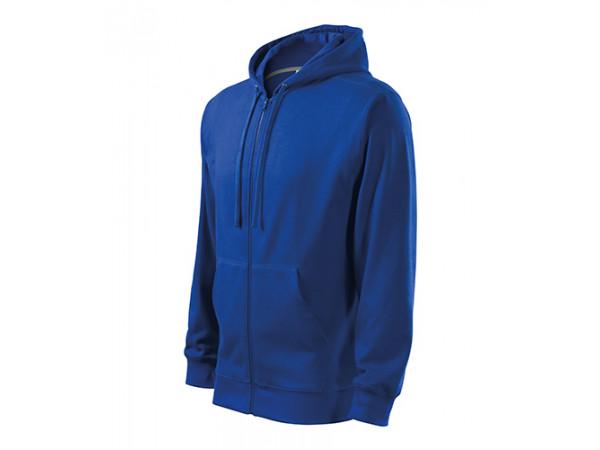 Pánska mikina  Trendy Zipper královská modrá