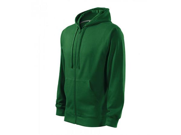 Pánska mikina  Trendy Zipper zelená