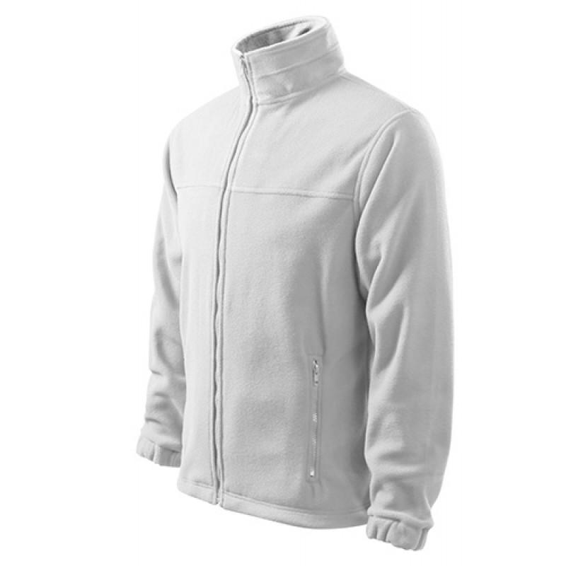 Pánsky Fleece JACKET biela