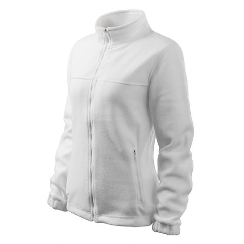 Dámska Fleece Mikina 1 biela